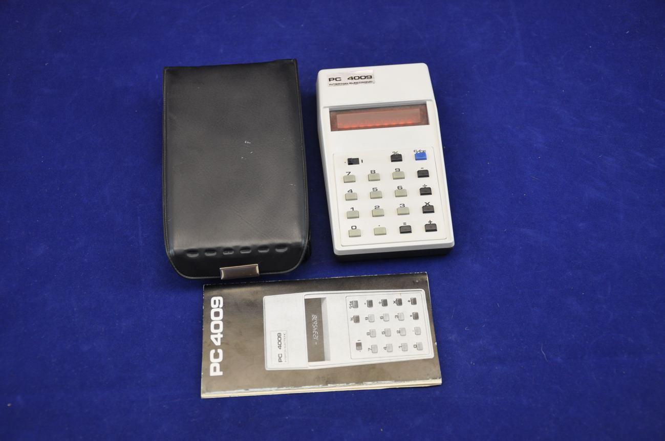 interton pc 4009 calculator manual case sale at shop kusera