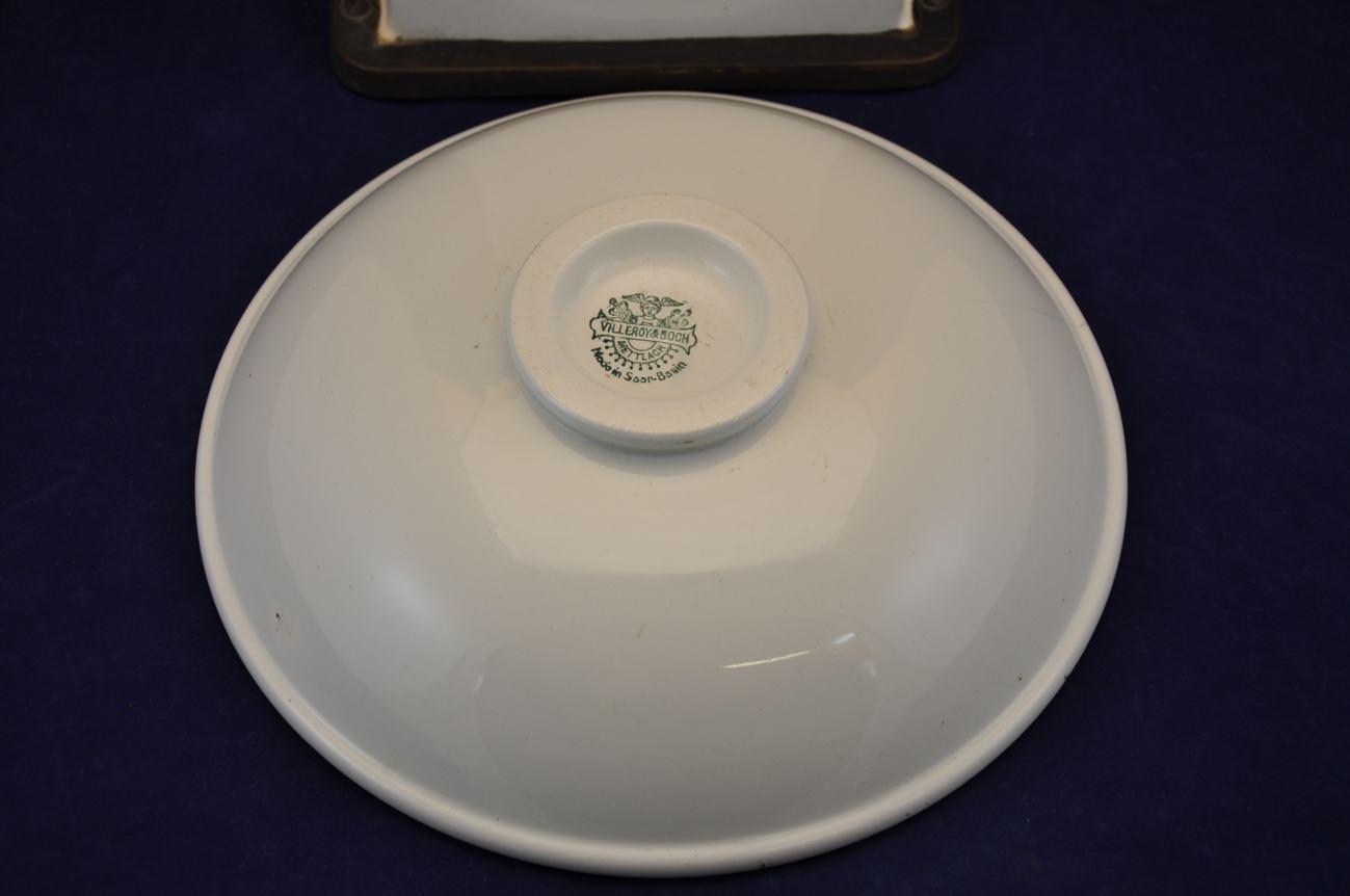 keramik k chenwaage von villeroy boch um 1920 art deco kusera. Black Bedroom Furniture Sets. Home Design Ideas