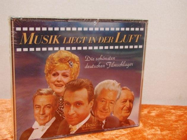 musik liegt in der luft deutsche filmschlager cd bei kusera