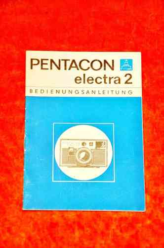 Pentacon electro 2 Bedienungsanleitung in Deutsch 15 S.