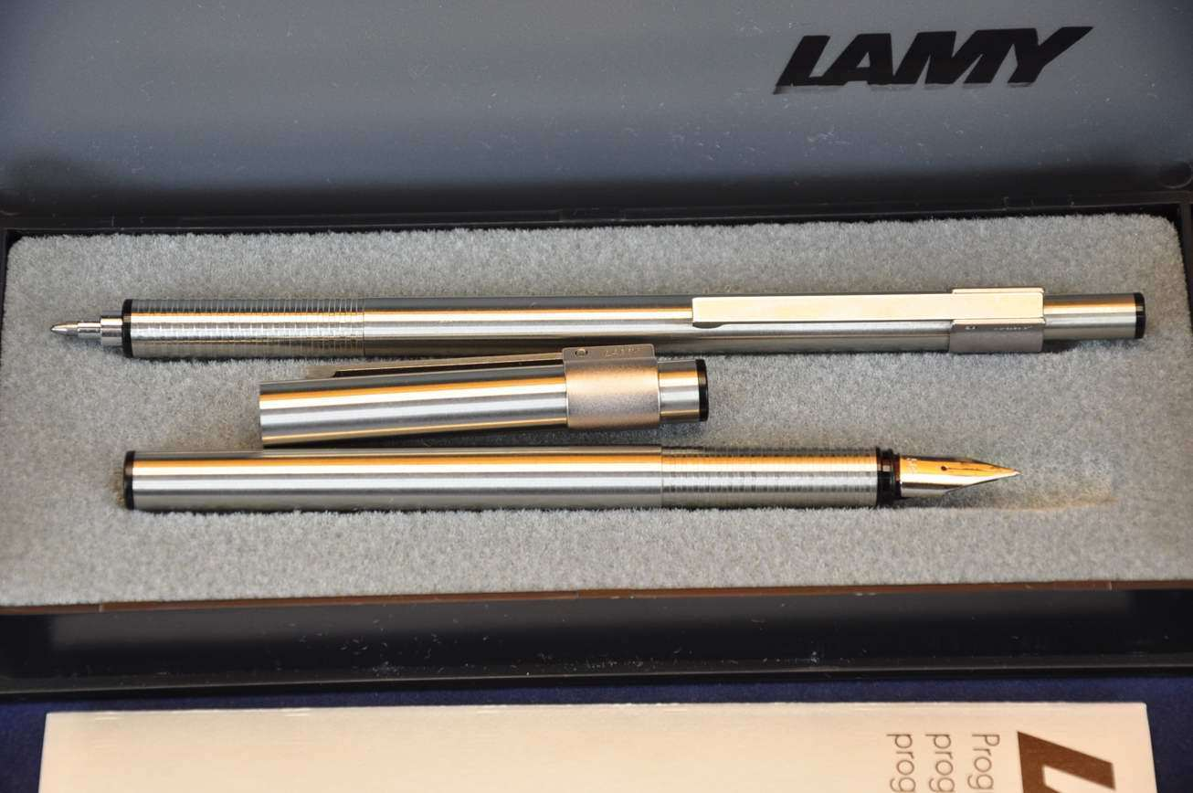 Lamy Unic Write Set Fountain Pen Ballpoint Pen Boxkusera