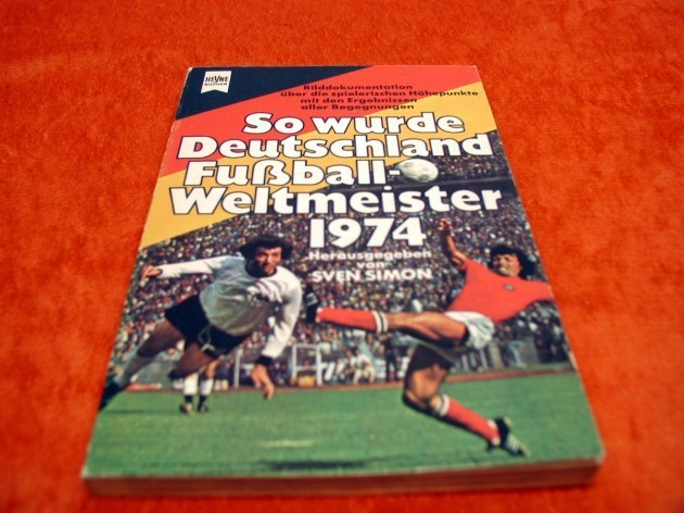 so wurde deutschland fu ball weltmeister 1974 bei shop kusera. Black Bedroom Furniture Sets. Home Design Ideas