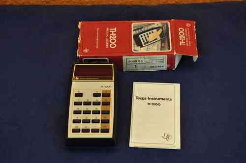 Texas Instruments TI-1200 electronic calculator