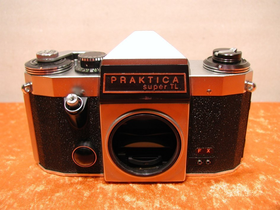 Mm slr vintage praktica super tl plus lens mm in
