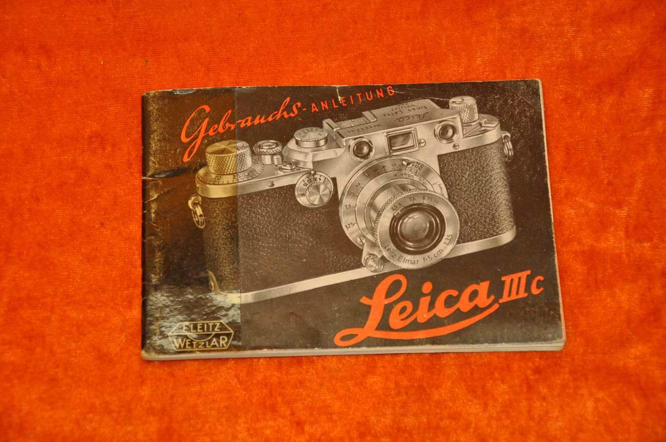 Leica Entfernungsmesser Bedienungsanleitung : Gebrauchsanleitung leica iiic seiten kusera