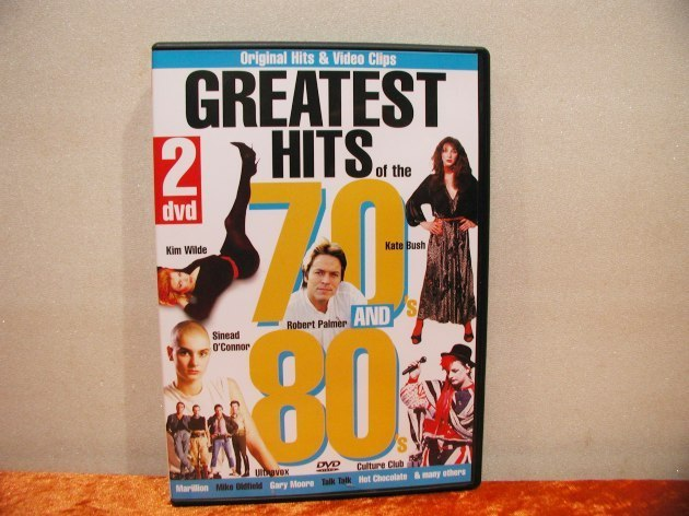 2 DVDs Greatest Hits of the 70s and 80s