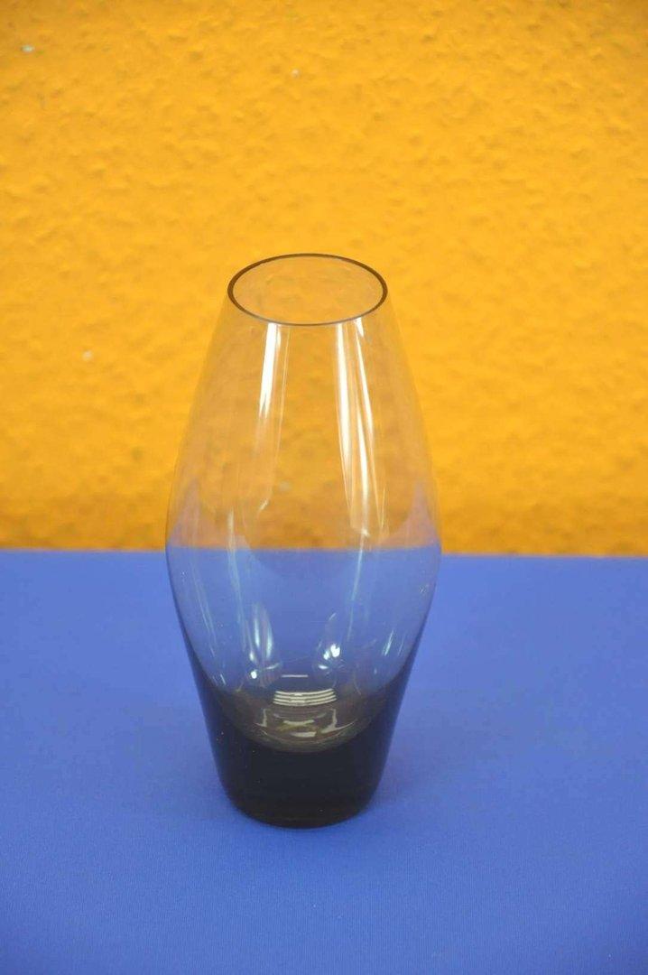 Wmf Smoked Glass Vase In Green Wagenfeld 50s At Shop Kusera