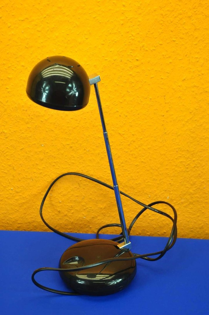 space age teleskoplampe ufo mfr nr 1008 schwarz shop kusera. Black Bedroom Furniture Sets. Home Design Ideas