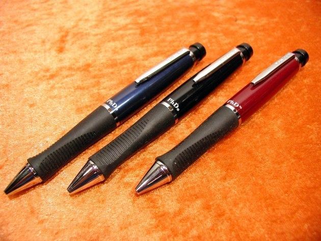 Sanford PhD 3 Ballpoint pens Red Blue and black ...