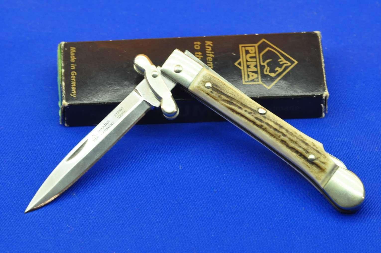 Puma Medici Messer von 2004 mit Karton neuwertig
