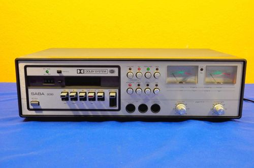 SABA 936 ULTRA HiFi Professional Tapedeck from 1978