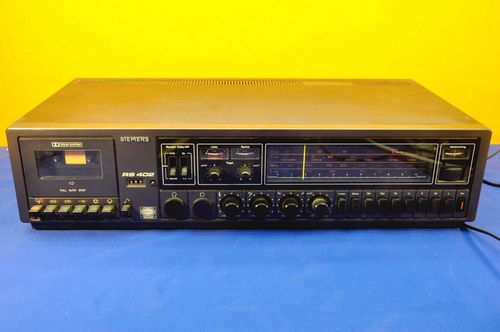 Siemens Klangmeister RS 402 receiver with tapedeck
