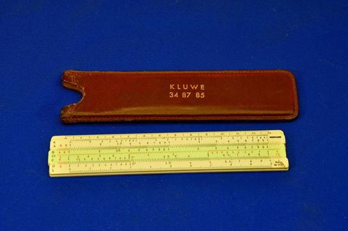 Slide rule Nestler Rietz Nr.0123 with leather case