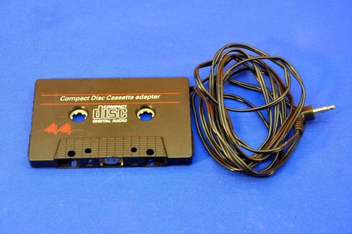 Compact Disc Cassette Adapter with 3.5mm jack
