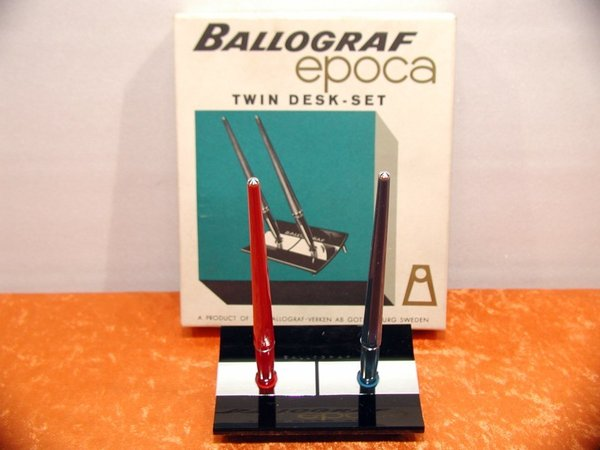 Ballograf EPOCA Twin Desk Set Originalverpackt um 1970 vintage\\n\\n24.04.2014 14:47