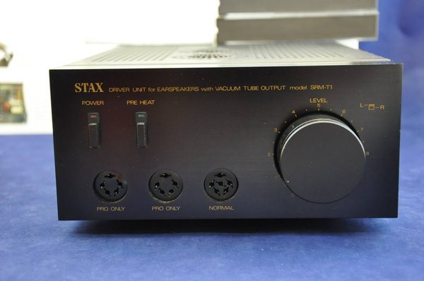 Stax Drive Unit for Earspeakers with Vacuum Tube Output Model SRM-T1\\n\\n04.02.2015 13:53