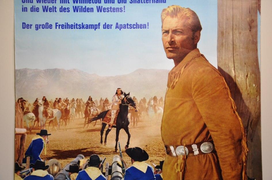 German Vintage Movie Poster Old Shatterhand For Sale Kusera