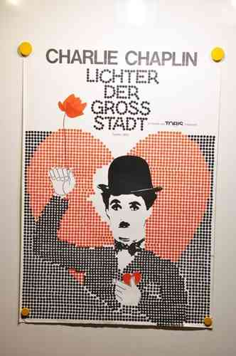 Movie Poster City Lights Charlie Chaplin