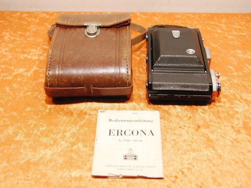 Zeiss Ikon ERCONA + Case + Manual - KuSeRa