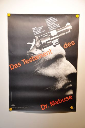German movie poster The Terror of the Mad Doctor 1962