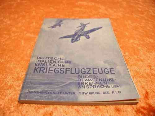1940/41 War planes pictures armament recognition