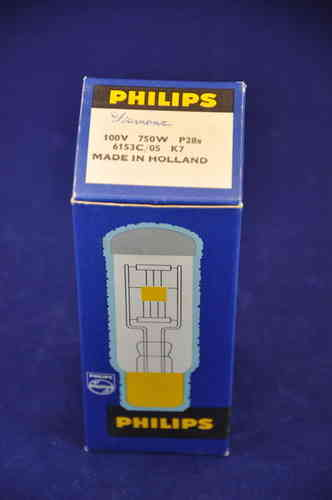Projector lamp Philips 100V 750W P28s base