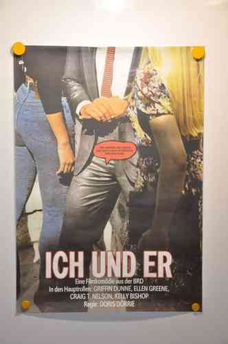 German Movie Poster Ich und Er GDR 1988