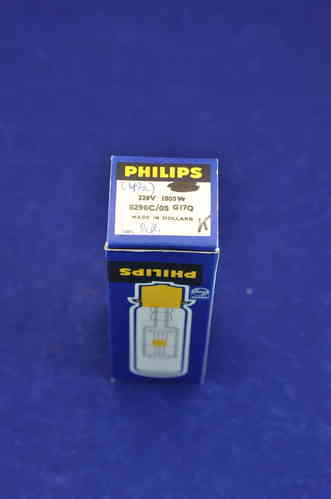 Philips 220V 1000W + Reflector with socket G17Q