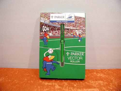 PARKER VECTOR Roller World Cup France 98 in original box