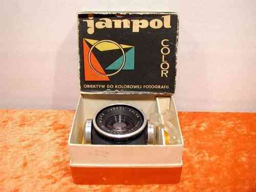 Janpol Color 1:5,6 / 80mm P WZFO + Box M42