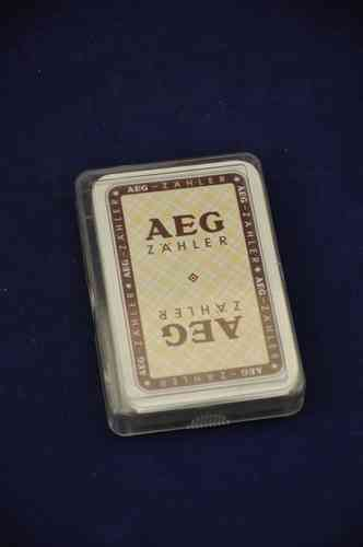 Skat sheet - AEG promotional cards