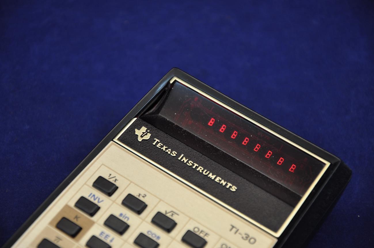 Texas Instruments Ti 30 Taschenrechner Rote Leds Kusera