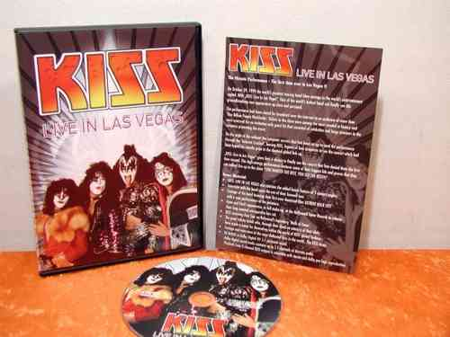 KISS Live in Las Vegas DVD Video