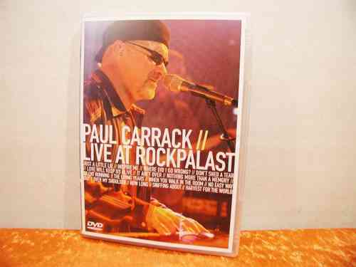 Paul Carrack // Live At RockPalast DVD Video