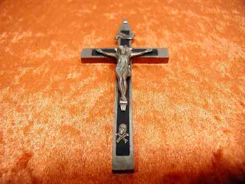 old large cross pendant crucifix 11 cm to 1920