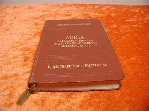 Meyers Reisebücher ADRIA 1930
