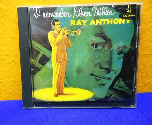 RAY ANTHONY I'l Remember Glenn Miller CD