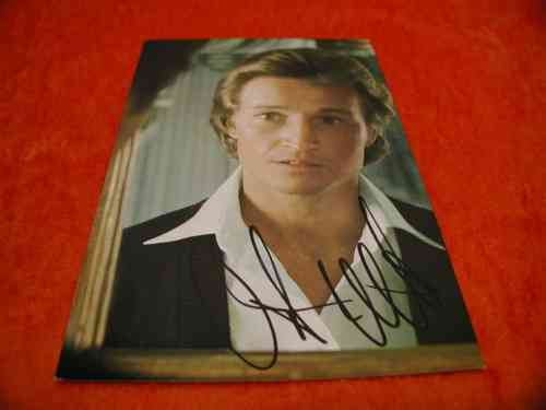 Christian Anders autograph card signed
