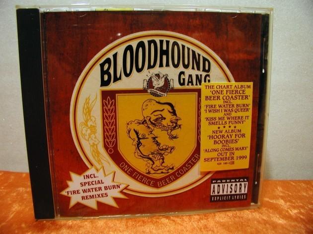 One Fierce Beer Coaster Bloodhound Gang Kusera