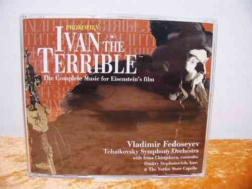 Prokofiev Ivan The Terrible Nimbus CD