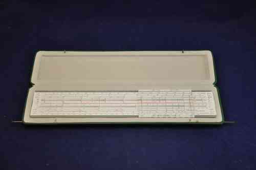 A.W. Faber-Castell slide rule mathema 2/84 + Box