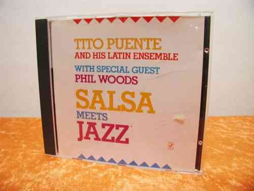 Tito Puente & His Latin Ensemble Salsa Meets Jazz