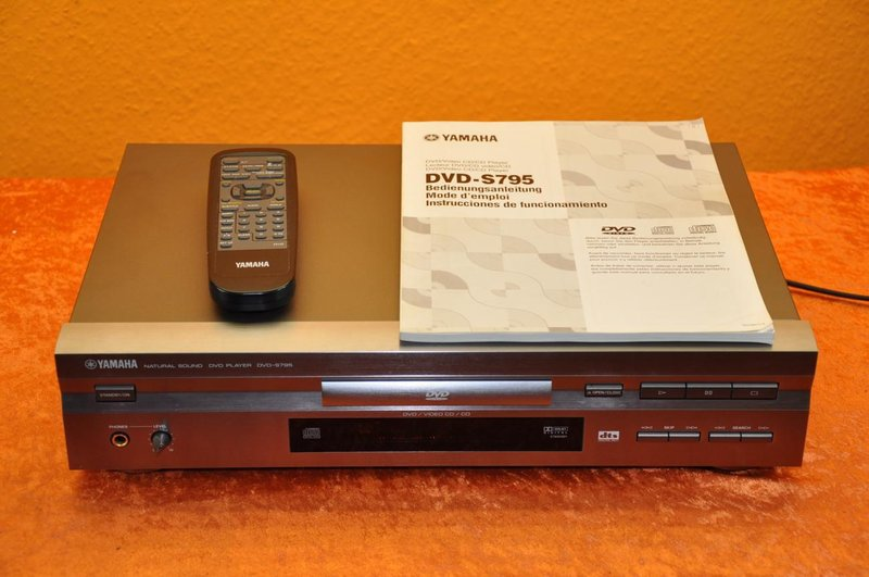 d00ee4e7f Yamaha DVD-S795 DVD/Video CD / CD Player TITAN - Kusera