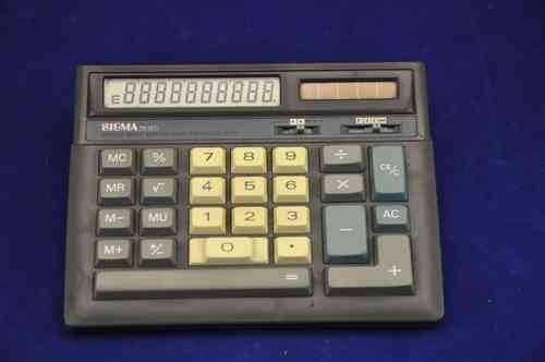 Desktop calculator SIGMA TR 15 D