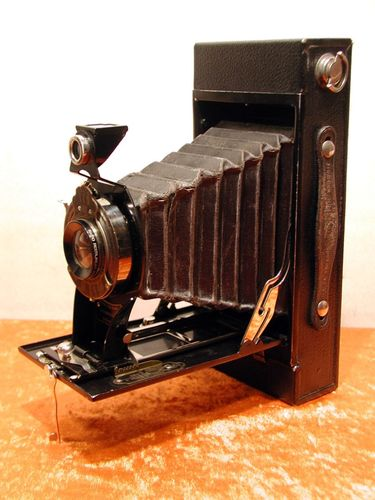 Kodak No.2-C Folding Autographic Brownie + Tasche