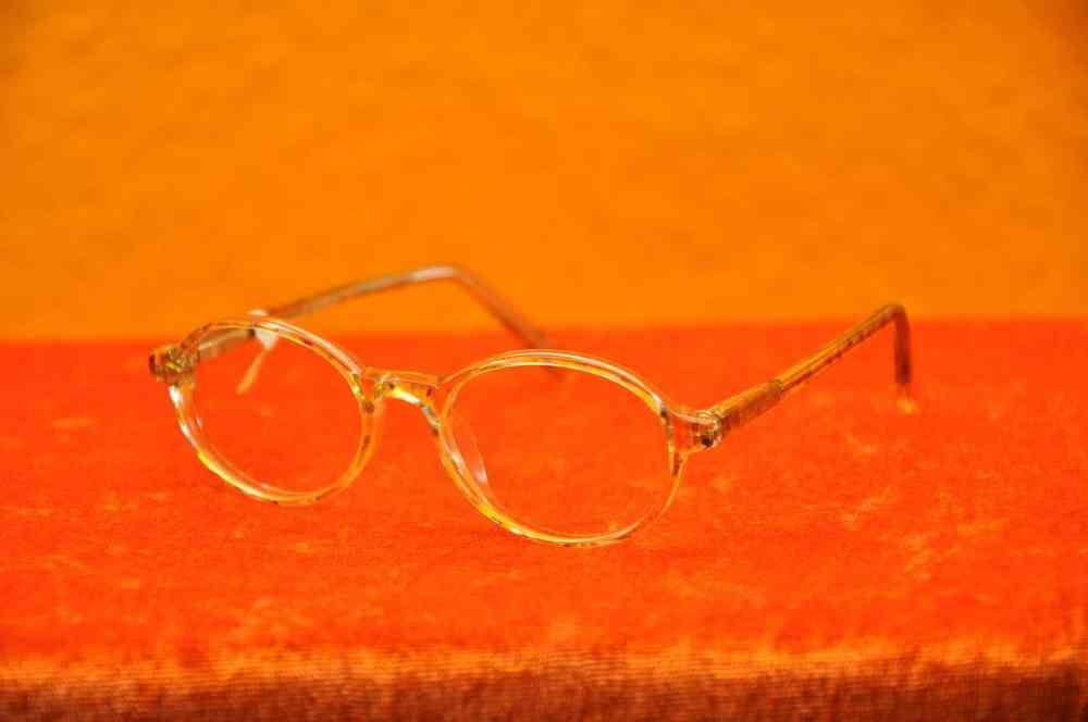 Brille Kinderbrille Kunststoff Gelb-Bunt von BI - KuSeRa