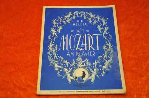 Sheet Music for Piano With Mozart at the Piano