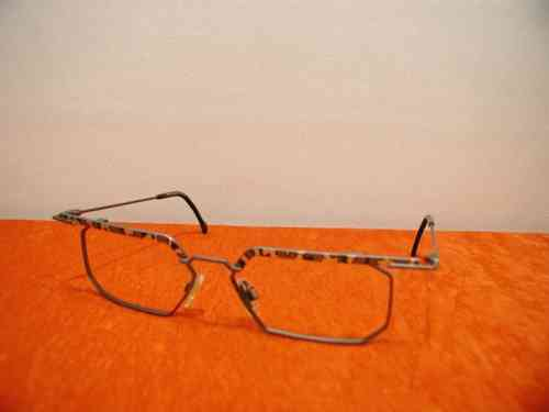 Brille Metall Ond Shiny Brown von Safilo