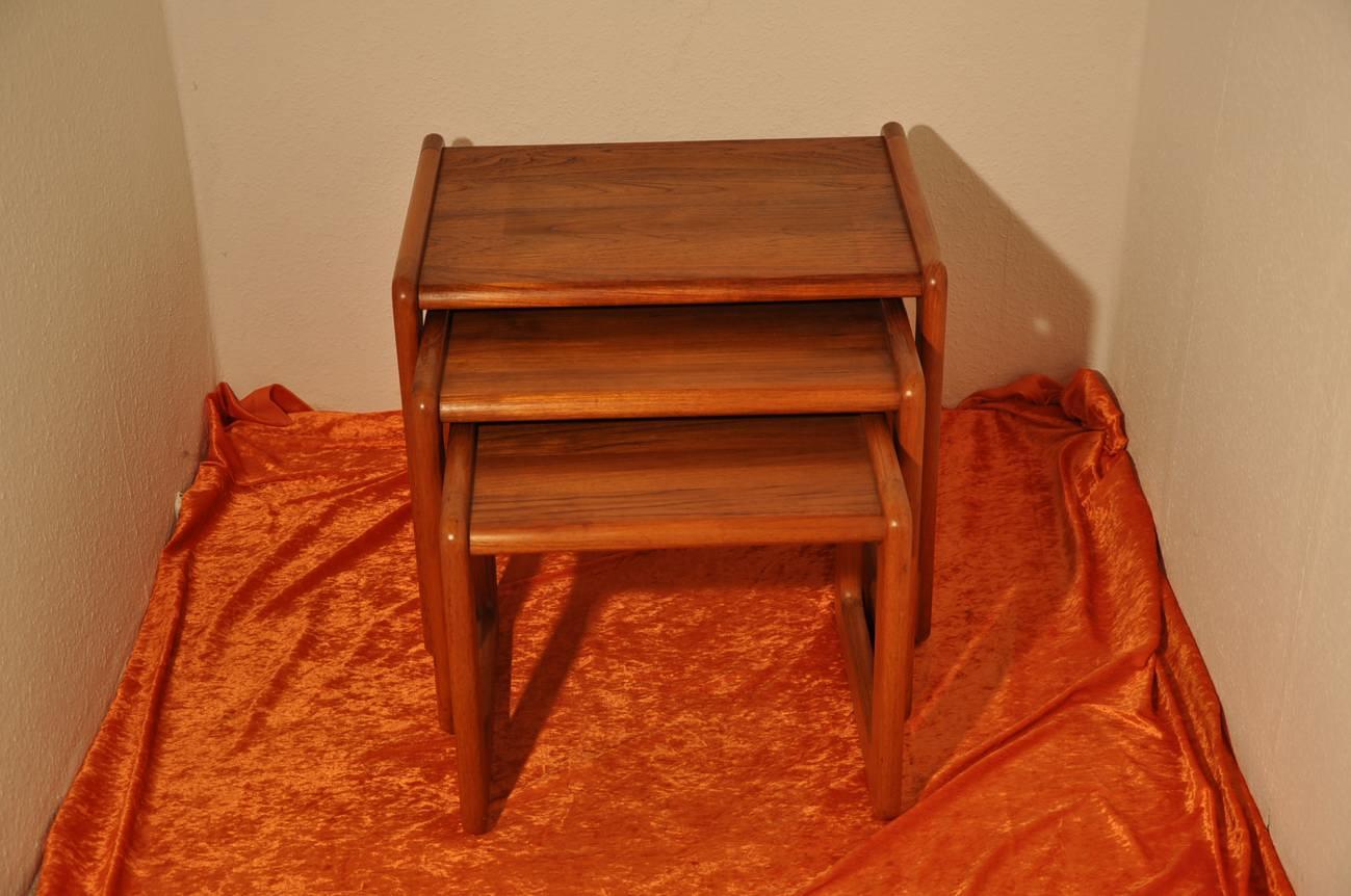 3 Adjustable Teak Tables Together Design KuSeRa