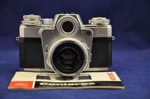 Nikon Mit Entfernungsmesser 2 5 10x40 : Zeiss ikon contarex bullseye planar bei kusera kaufen